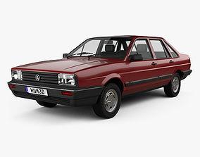 3D Volkswagen Santana CN-spec 1985