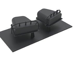 Yamato ventilation scale 3D printable model