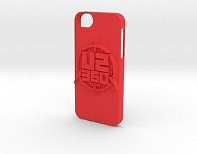 U2 Iphone 5 Case 3D print model