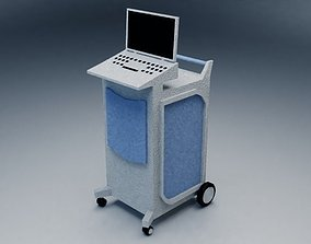 hospital equipment 3D model realtime