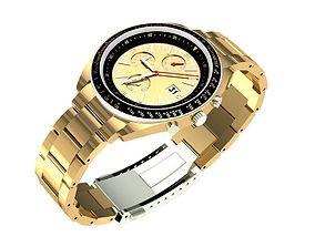 3D printable model Gold Mens Watch