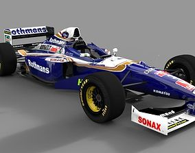 Williams F1 1997 3D asset low-poly