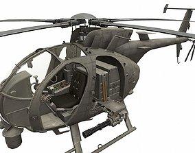 3D model Boeing AH-6